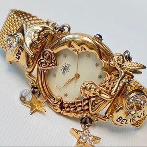 Kirks Folly Dream Believe Angel Time Women's Watch
